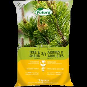 Terreau 3/1 Arbres et Arbustes
