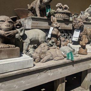 Statues et Ciment