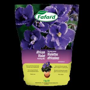 Terreau pour violettes africaines